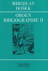 OBOEN BIBLIOGRAPHIE I a very comprehensive listing