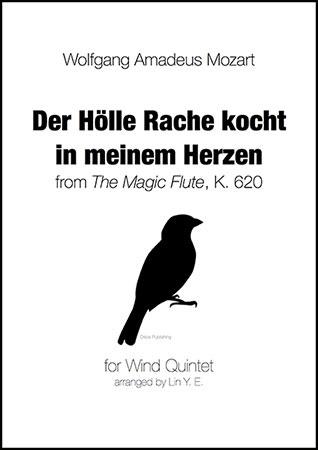 DER HOLLE RACHE KOCHT IN MEINEM HERZEN (score & parts)