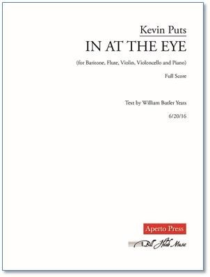 IN AT THE EYE (score & parts)