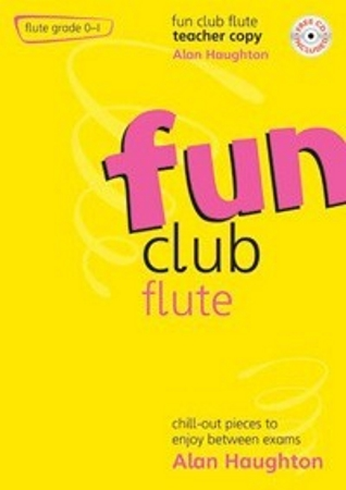 FUN CLUB FLUTE Grade 0-1 Teacher Copy + CD