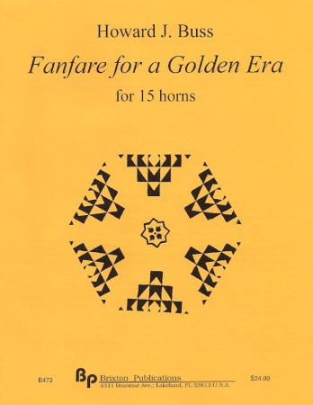 FANFARE FOR A GOLDEN ERA (score & parts)