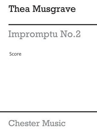IMPROMPTU No.2 score