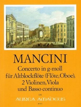 CONCERTO in G minor (score & parts)