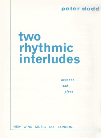 TWO RHYTHMIC INTERLUDES