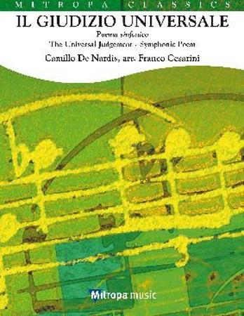 IL GUIDIZIO UNIVERSALE Symphonic Poem (score & parts)