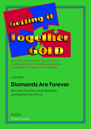 DIAMONDS ARE FOREVER Title theme