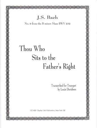 THOU WHO SITS TO THE FATHER'S RIGHT
