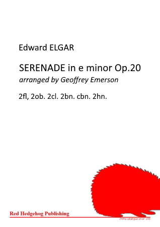 SERENADE in E minor Op.20 (score & parts)
