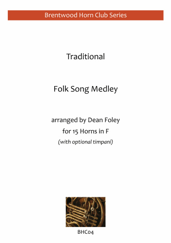FOLK SONG MEDLEY  (score & parts)