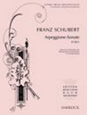 ARPEGGIONE SONATA (D821) score & parts