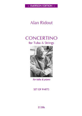 CONCERTINO FOR TUBA (set of parts)