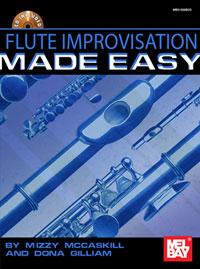 FLUTE IMPROVISATION MADE EASY + CD