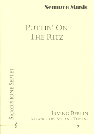 PUTTIN' ON THE RITZ (score & parts)