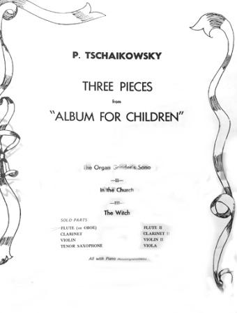 THREE PIECES from Album for Children