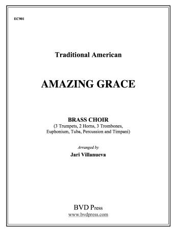 AMAZING GRACE (score & parts)