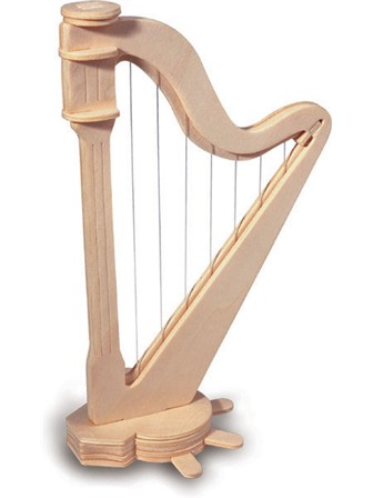QUAY WOODCRAFT KIT Harp