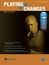 PLAYING ON THE CHANGES + DVD (Bass Clef Instruments)