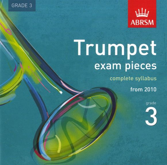 TRUMPET EXAM PIECES CD Grade 3 2010+