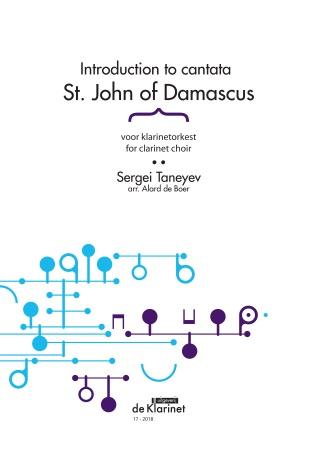 ST JOHN OF DAMASCUS Introduction (score & parts)