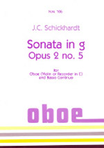 SONATA Op.2/5 in g minor