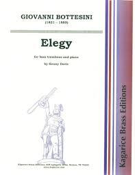 ELEGY for bass trombone