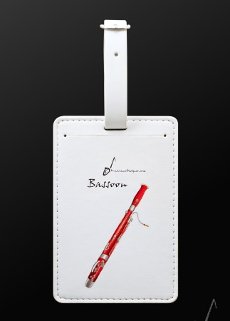 LUGGAGE TAG Bassoon