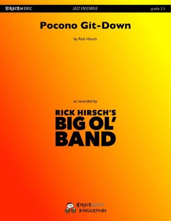 POCONO GIT-DOWN (score & parts)