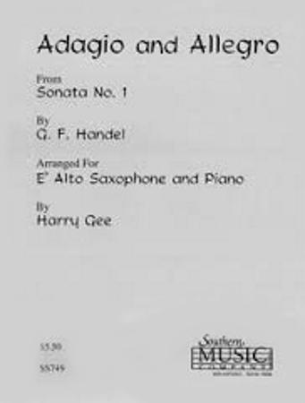 ADAGIO AND ALLEGRO from Sonata No.1