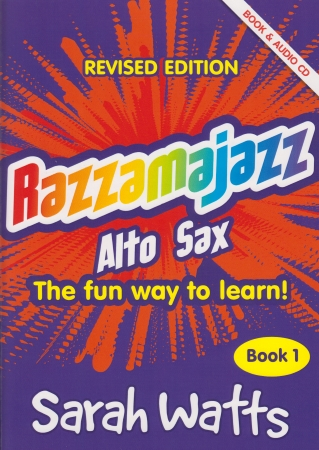 RAZZAMAJAZZ Alto Sax Book 1 + CD