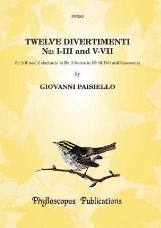 TWELVE DIVERTIMENTI Nos.I-III and V-VII