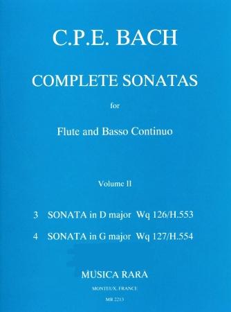 COMPLETE SONATAS Volume 2: Wq.126/127
