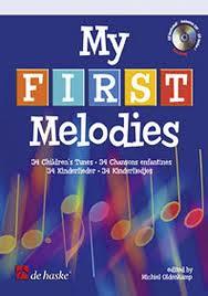 MY FIRST MELODIES + CD 34 children's tunes
