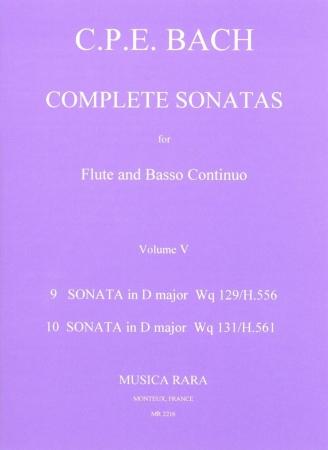 COMPLETE SONATAS Volume 5: Wq.129/131 in D
