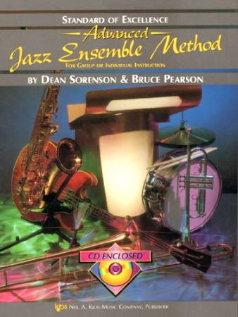 STANDARD OF EXCELLENCE Advanced Jazz Ensemble Method + CD flute