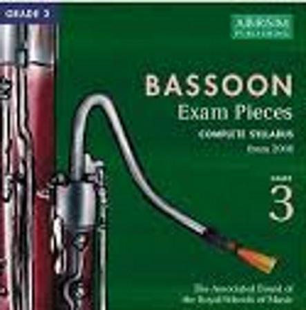 BASSOON Grade 3 CD 2006+