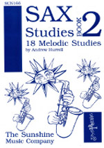 SAX STUDIES Book 1 18 Melodic Studies