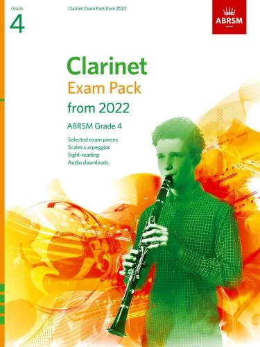 CLARINET EXAM PACK From 2022 Grade 4