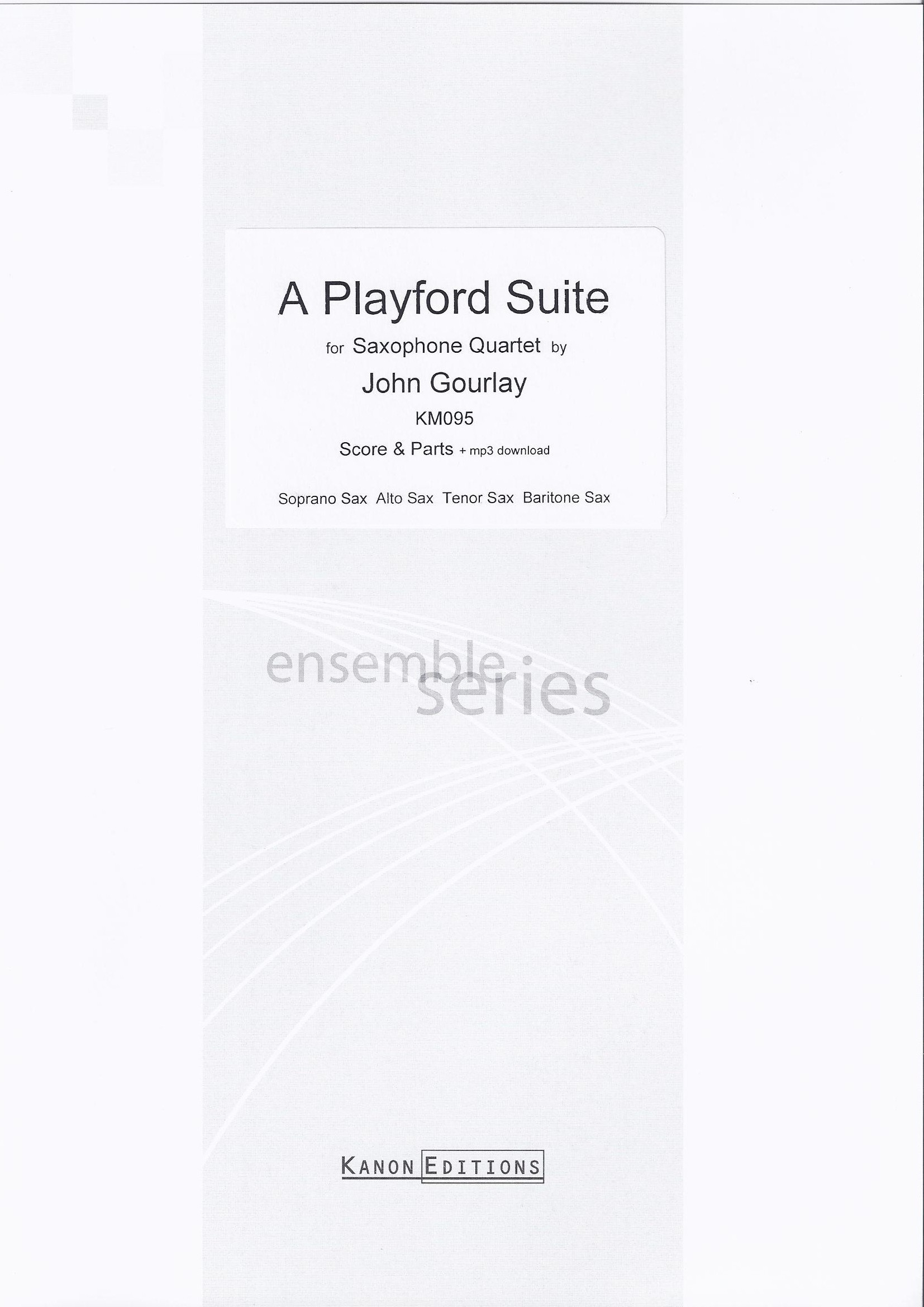 A PLAYFORD SUITE score & parts