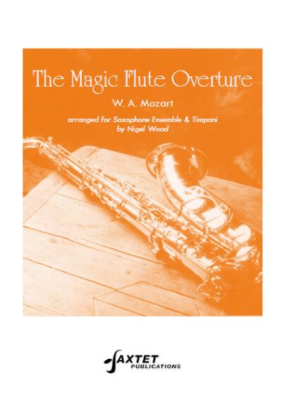THE MAGIC FLUTE OVERTURE score & parts