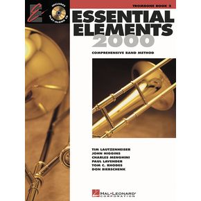 ESSENTIAL ELEMENTS Book 2 + Online Resources (bass clef)