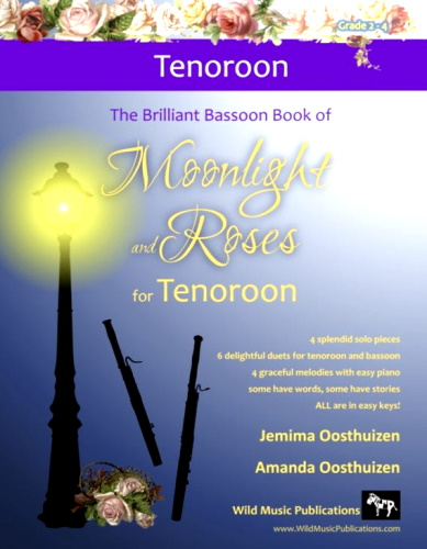 THE BRILLIANT BASSOON BOOK of Moonlight and Roses (for tenoroon)