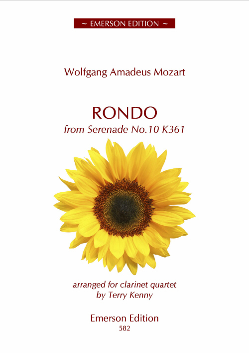 RONDO from Serenade No.10 K361 (score & parts)