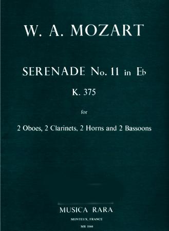 SERENADE No.11 in Eb major K375 (set of parts)