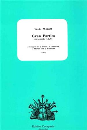 GRAN PARTITA K361 (score & parts)