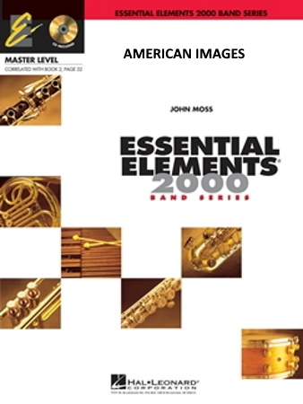 AMERICAN IMAGES (score & parts)