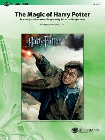 THE MAGIC OF HARRY POTTER (score & parts)