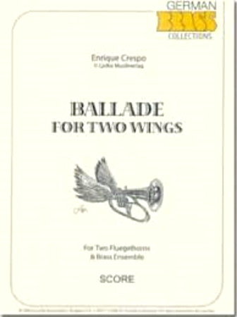 BALLADE for Two Wings (score & parts)