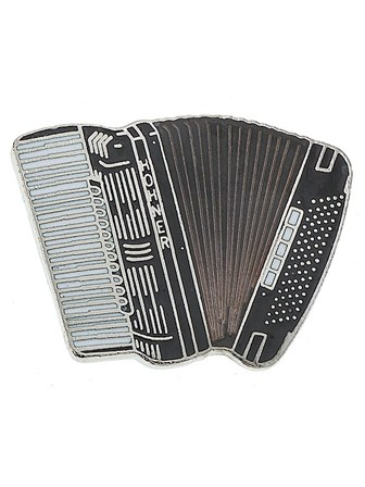 MINI PIN Accordion (Black)