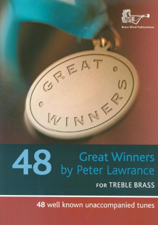 GREAT WINNERS for Treble Brass + CD
