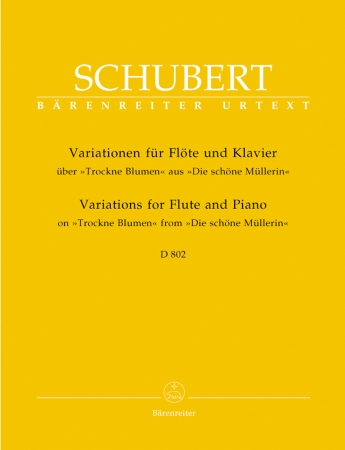VARIATIONS on Trockne Blumen Op.160